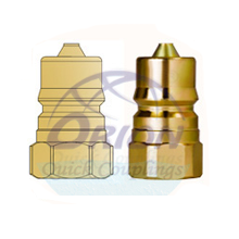 Two Way Check Valve Couplings Plug